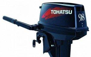 Лодочный мотор Тохатсу 9.8 расход топлива